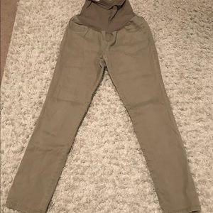Motherhood Maternity Taupe Skinny Pants
